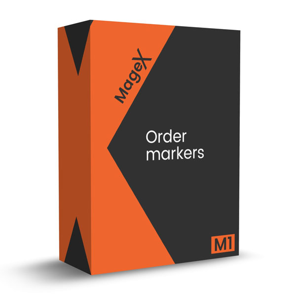 Order markers Magento 1 extension